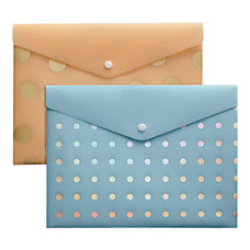 Divoga Poly Snap Letter Envelope Whimsical