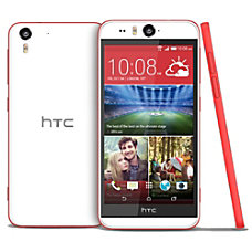 HTC Desire EYE Cell Phone WhiteRed