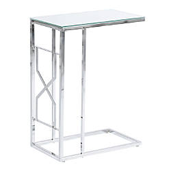 Monarch Specialties Rectangular Accent Table MirrorChrome