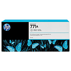 HP 771A Ink Cartridge Light Gray