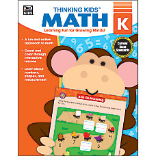 Carson Dellosa Thinking Kids Math Resource