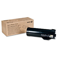 Xerox 106R02720 Black Toner Cartridge