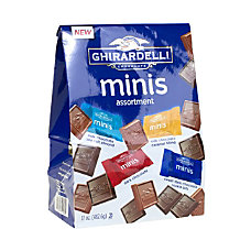 Ghirardelli Assorted Chocolate Minis 17 Oz