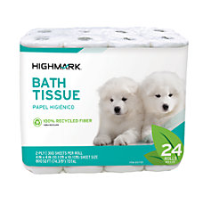 Highmark 100percent Recycled Bathroom Tissue 300