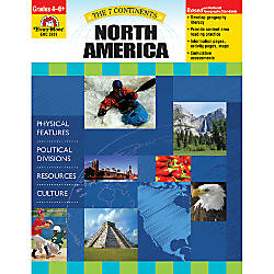 Evan Moor The 7 Continents North