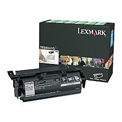 Lexmark T654X41G Extra High Yield Return