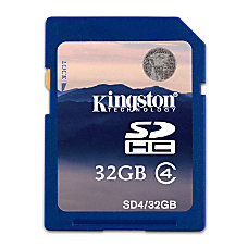 Kingston 32GB MicroSD Flash Card Class