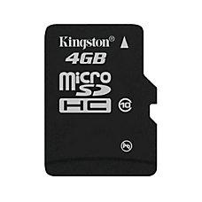 Kingston 4GB microSDHC Class 10 Memory