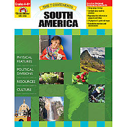 Evan Moor The 7 Continents South