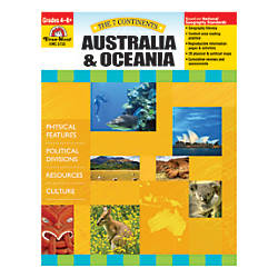 Evan Moor The 7 Continents Australia
