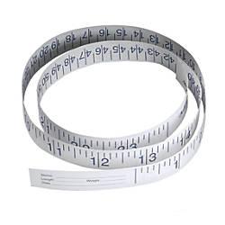 Medline Paper Measuring Tapes 36 White