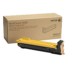 Xerox 108R00777 Yellow Drum Unit