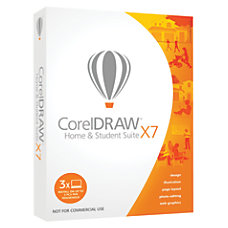 CorelDRAW Home Student Suite X7 Traditional