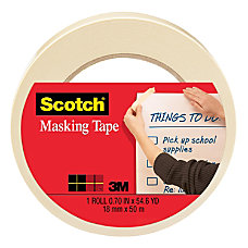 Scotch Masking Tape 34 x 2160