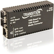 Transition Networks Mini Gigabit Ethernet Media