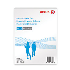 Xerox Never Tear Paper 8 12