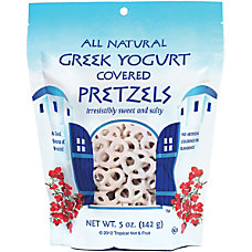 Tropical Greek Yogurt Pretzels 5 Oz