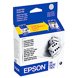 Epson® S189108-S Black Ink Cartridge