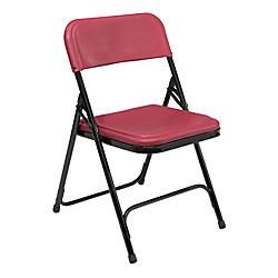National Public Seating Lightweight Plastic Folding