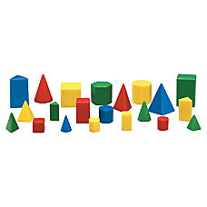 Learning Resources Mini GeoSolids Shapes Set
