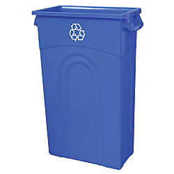 United Solutions Highboy Rectangle Polypropylene Recycle