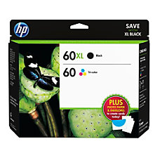 HP 60XL Black 60 CyanMagentaYellow Original
