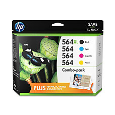 HP 564XL Black 564 CyanMagentaYellow Original