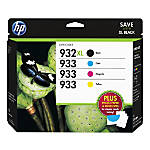 HP 932XL933 Black CyanMagentaYellow Original Ink