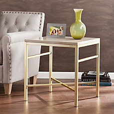 Southern Enterprises Orinda End Table Square