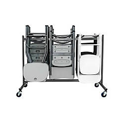 Cosco Classic Collection Folding Chair Trolley