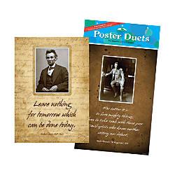 Barker Creek Poster Duet Set Presidential