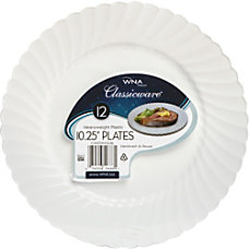 Classicware 1025 Plates Shrink Wrapped 1025