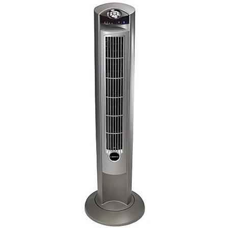 Lasko 2551 Wind Curve Platinum Tower Fan With Remote