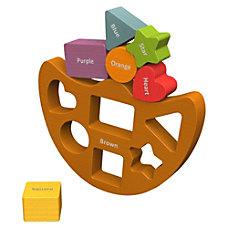 BeginAgain Toys ShapesColors Balance Boat ThemeSubject