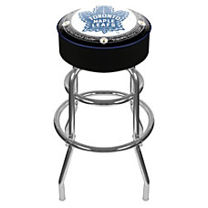 Trademark Global Padded Bar Stool Throwback