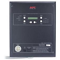 APC 6 Circuit Universal Transfer Switch