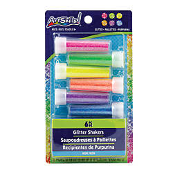Artskills Glitter Shakers Assorted Neon Colors