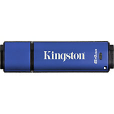 Kingston 64GB DataTraveler Vault Privacy 30