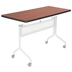 Safco Impromptu Mobile Training Table Top Rectangular 48 W