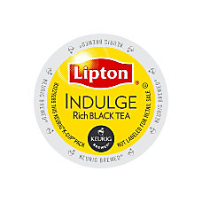 Lipton Indulge Black Tea K Cup