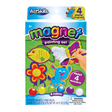 Artskills Paint Your Own Magnets Kit