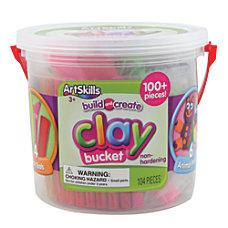 Artskills Clay Bucket Assorted Colors