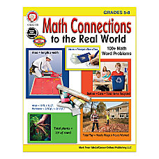 Mark Twain Media Math Connections To