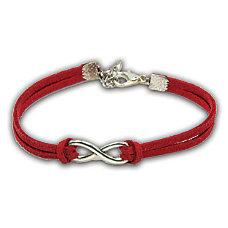 Infinity Bracelet Red