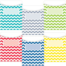 Educational D cor Chevron Solids Jumbo