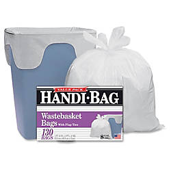 Webster Handi Bag Wastebasket Bags 8