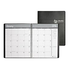 SKILCRAFT Embossed Wirebound Monthly Planner 8