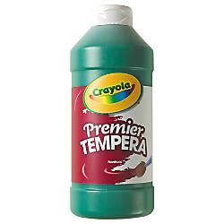 Crayola Premier Tempera Paint Green