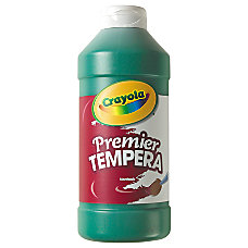 Crayola Premier Tempera Paint Green