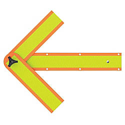 deflecto Reflective Safety Arrow